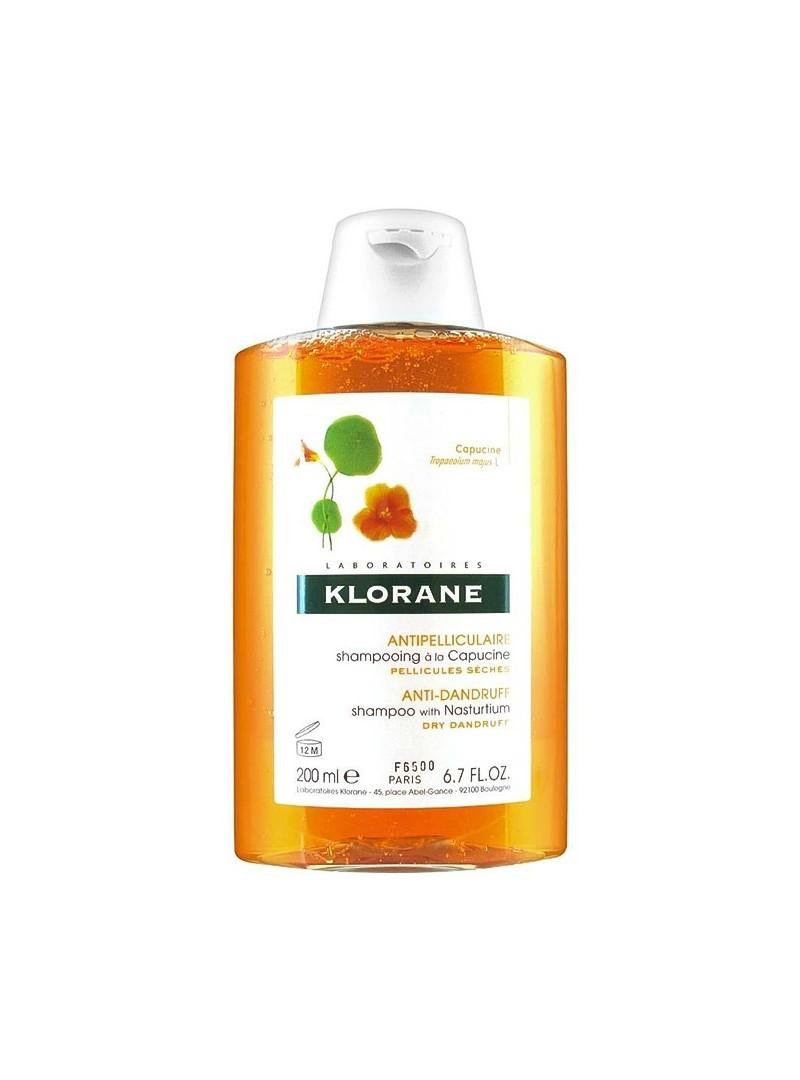 Klorane Capucine Shampoo 200 ml Latin Çiçeği Ekstresi İçeren Kepeğe Karşı Bakım Şampuanı