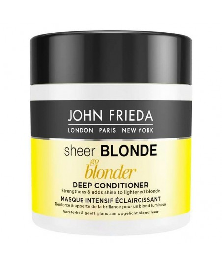 John Frieda Sheer Blonde Go Blonder Lightening Deep Conditioner 150 ml - Bakım Maskesi
