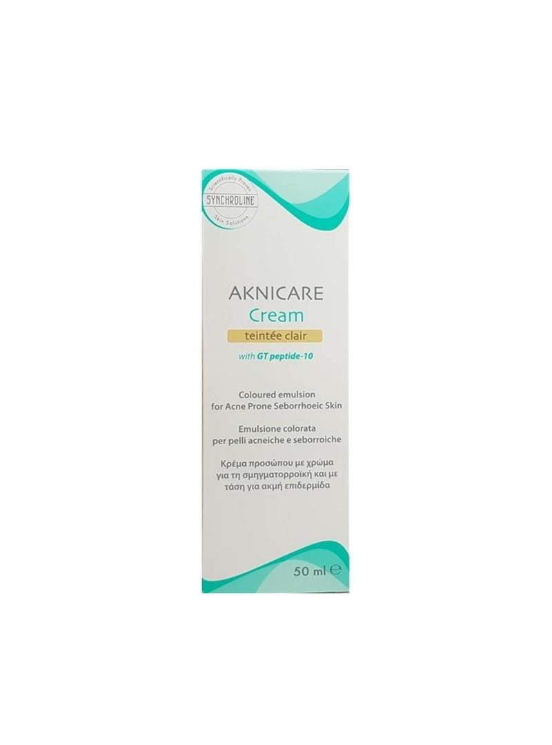 Aknicare Cream Teintee Clair Renkli 50 ml