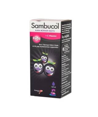 Sambucol 1-12 Kids Siyah...