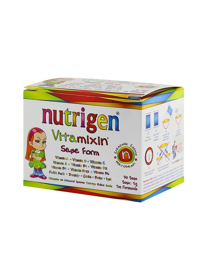 Nutrigen Vitamixin Şase Form