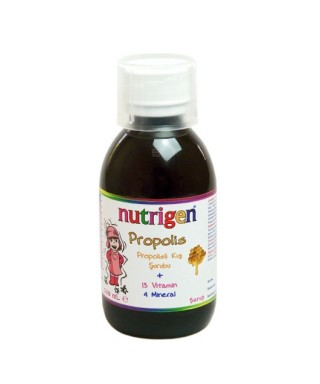 OUTLET - Nutrigen Propolis Şurup (Böğürtlen Özlü) 200ml