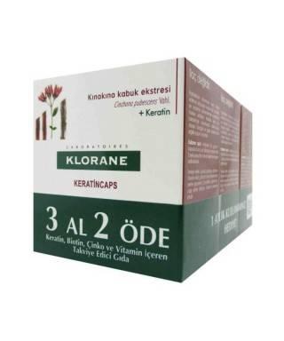 Klorane Keratin Kapsül 3x30 - 3 Al  2 Öde