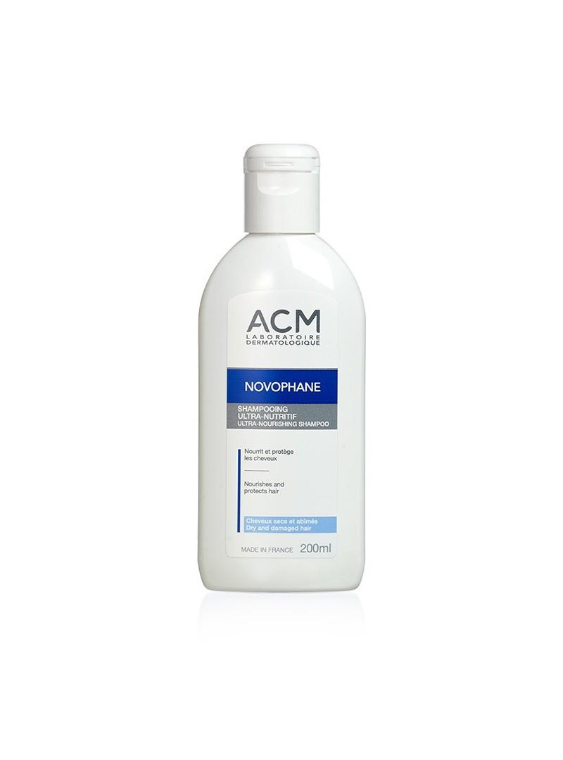 ACM Novophane Ultra Nourishing Shampoo 200ml - Kuru ve Yıpranmış Saçlar İçin