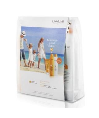 OUTLET - Babe SPF 50+ Güneş Koruyucu Bakım Seti Yağlı ve Karma Ciltler