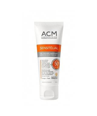ACM Sensitelial Mattifying Sunscreen Gel SPF 50+ 40 ml