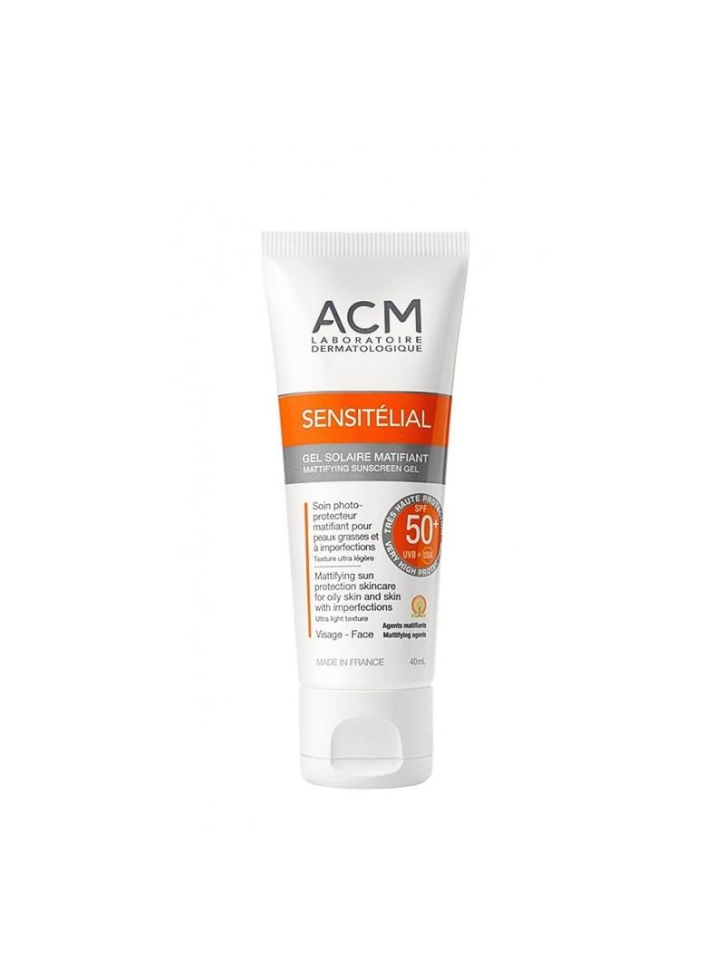 ACM Sensitelial Mattifying Sunscreen Gel SPF 50+ 40 ml