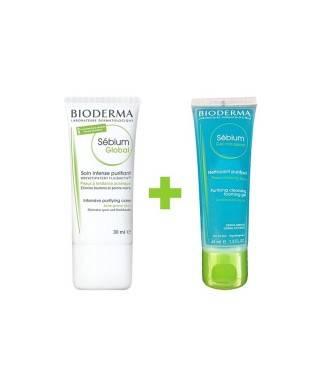 Bioderma Sebium Global 30 ml + Sebium Foaming Gel 45 ml HEDİYE