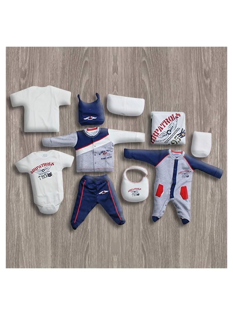 OUTLET - Aziz Bebe Grimelaj 10'lu Yeni Doğan Bebek Seti