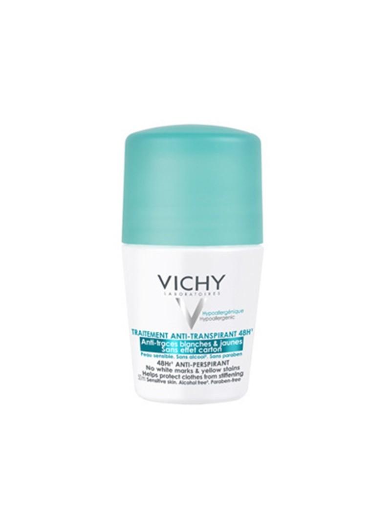 Vichy Deo 48 Saat Etkili Terleme Karşıtı İz Bırakmayan Deodorant  Roll-On 50ml