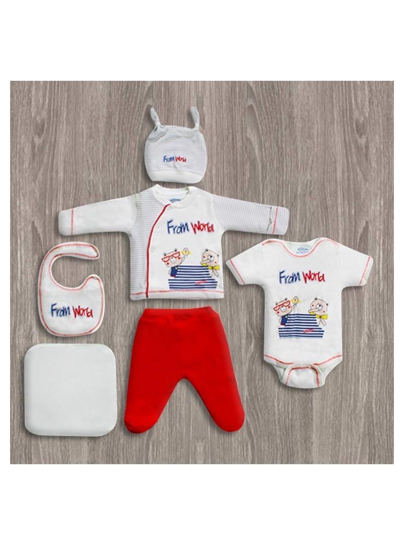 OUTLET - Aziz Bebe Grimelanj 6'lı Yeni Doğan Bebek Seti