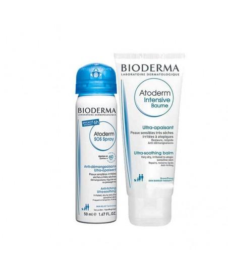 Bioderma Atoderm SOS Spray 50 ml + Atoderm Intensive Baume 45 ml HEDİYE