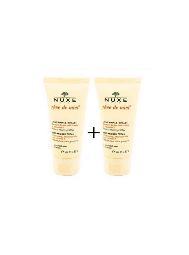 OUTLET - Nuxe Reve de Miel Creme Mains et Ongles 2x50 ml