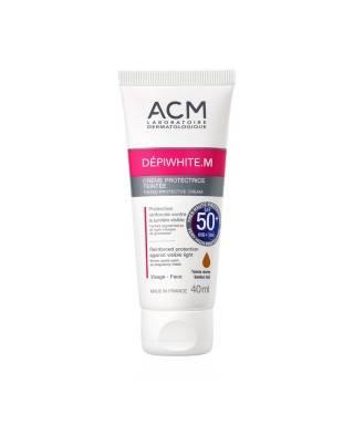 Acm Depiwhite.M Tinted Protective Cream SPF 50 40 ml - Lekelere Karşı Koruyucu Krem