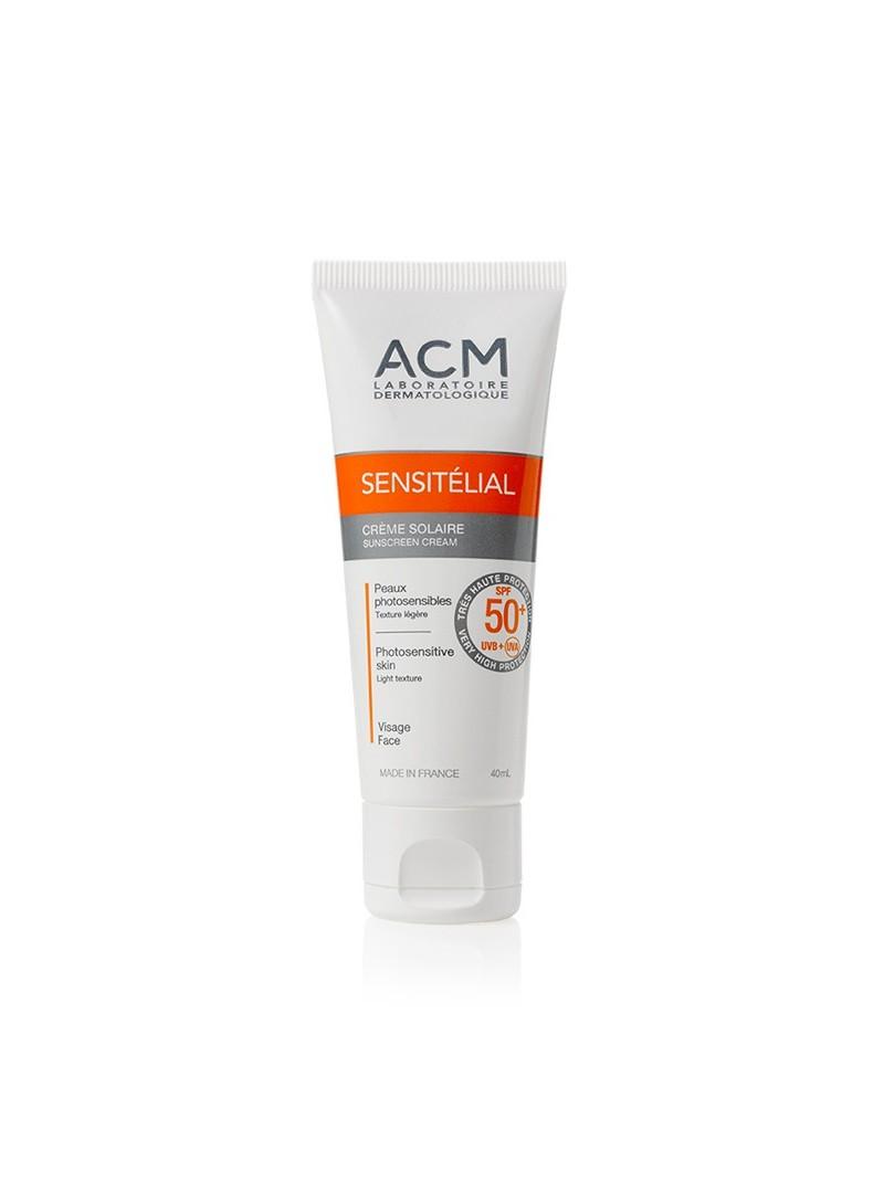 Acm Sensitelial Sunscreen Cream SPF50+ 40 ml- Güneş Koruyucu Krem
