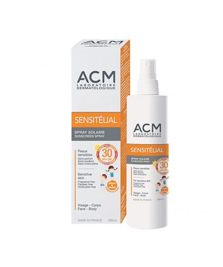 ACM Sensitelial Sunscreen Spray SPF30 200 ml