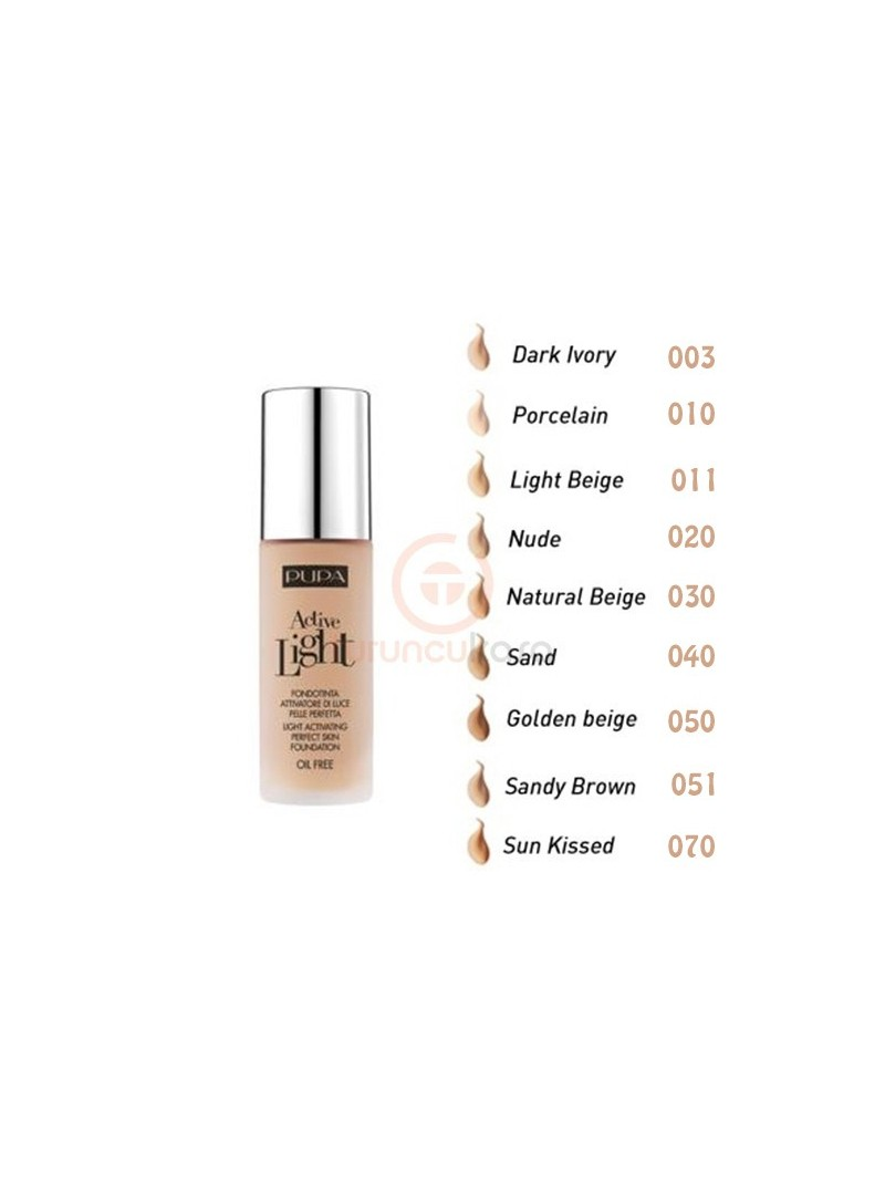 Pupa Milano Active Light Foundation 30ml