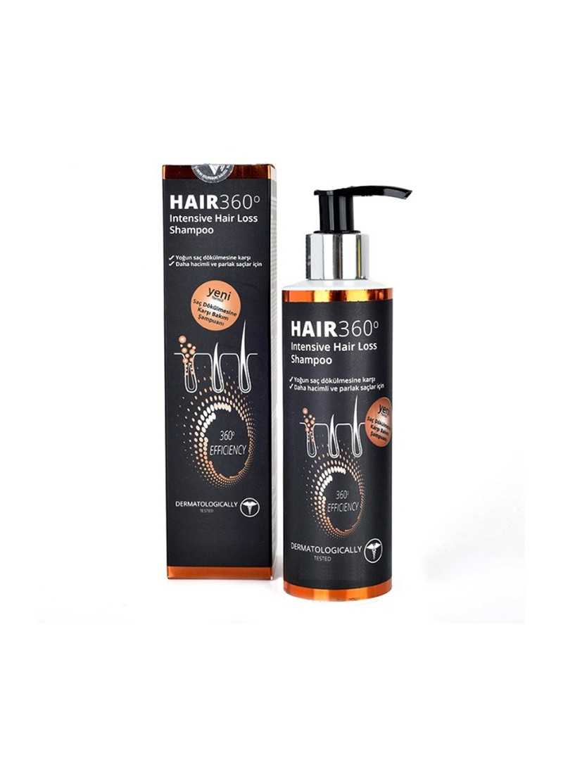 Hair 360 İntensive Hair Loss Shampoo 200ml