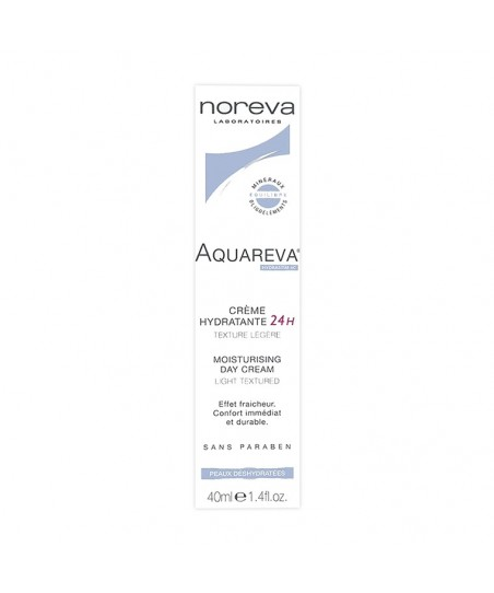 Noreva Aquareva 24H Moisturising Day Cream Light Textured 40 ml
