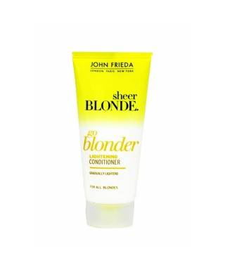 OUTLET - John Frieda Sheer Blonde Go Blonder Lightening Conditioner 50ml