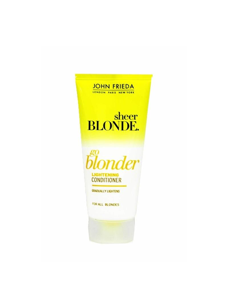 OUTLET - John Frieda Sheer Blonde Go Blonder Lightening Conditioner 50ml