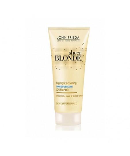 OUTLET - John Frieda Sheer Blonde Highlight Activating Shampoo 50 ml