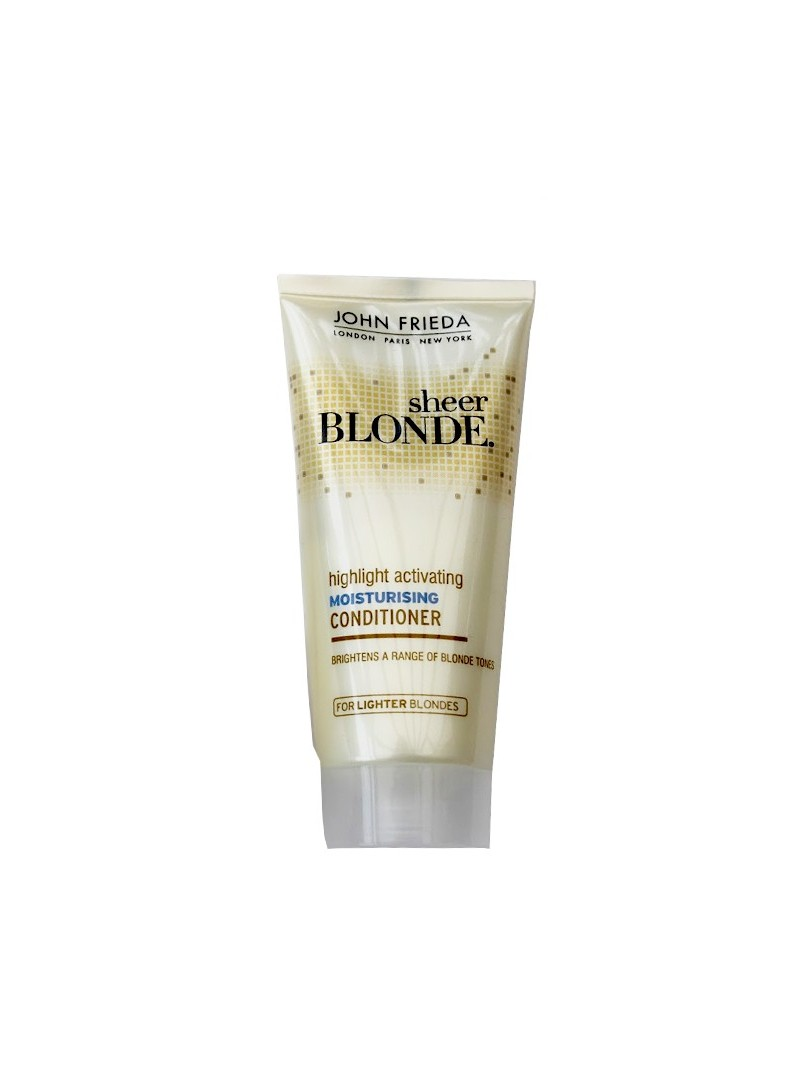 OUTLET - John Frieda Sheer Blonde Highlight Activating Moisturising Conditioner 50 ml