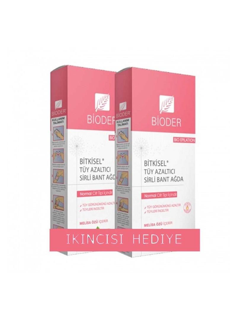 Bioder Epiten Tüy Azaltıcı Sirli Bant Ağda - Vücut (Normal Ciltler İçin)