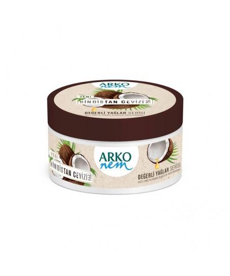 Arko Nem Krem Değerli Yağlar Hindistan Cevizi Yağlı Bakım Kremi 250 ml