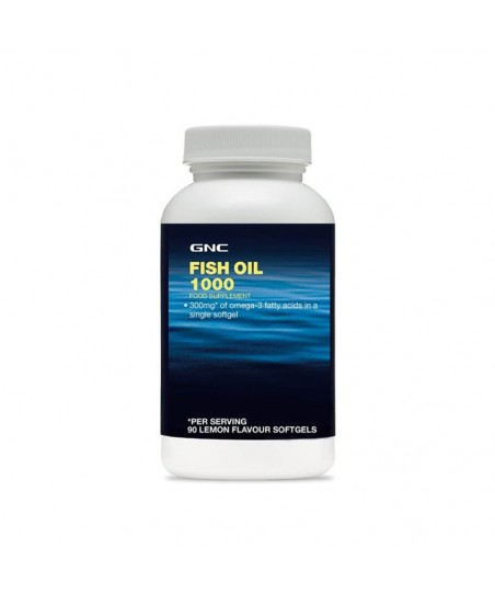 GNC Fish Oil 1000mg 90 Kapsül