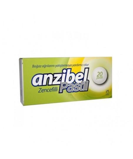 Anzibel Zencefilli 20 Pastil
