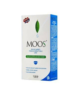 Moos Yosun & Çay Ağacı Özlü Cilt Temizleyici Likid 200ml