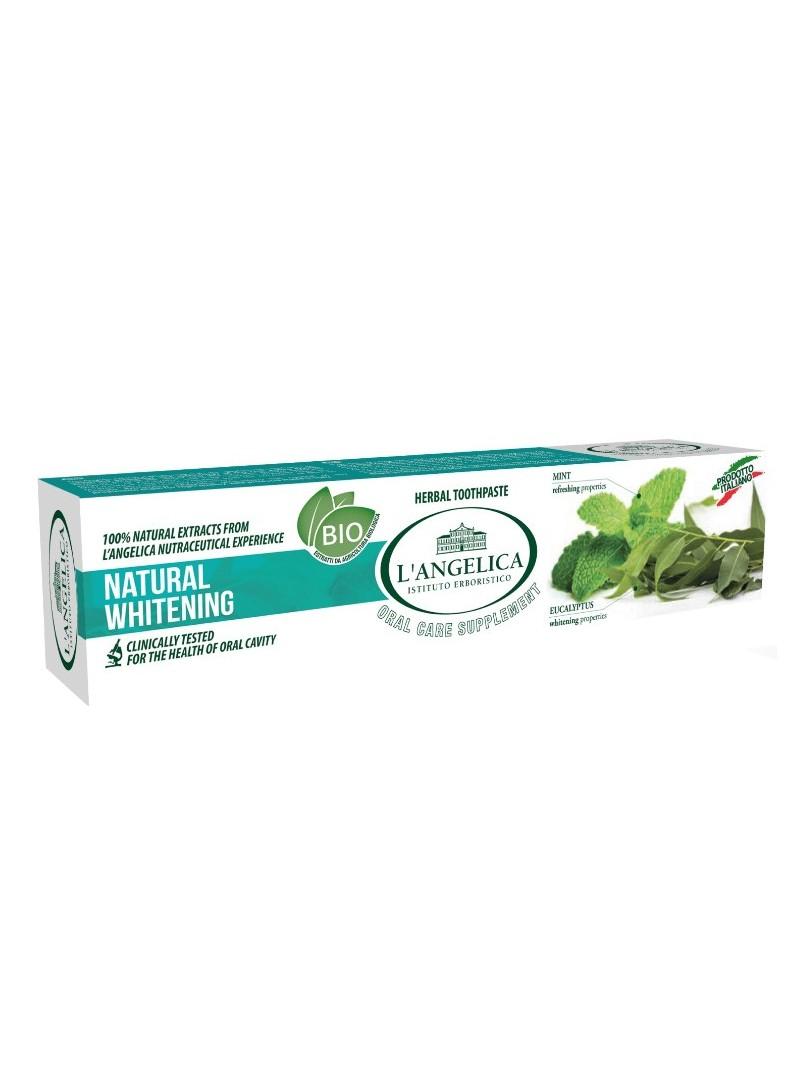 Langelica Okaliptus Adaçayı Diş Macunu Doğal Beyazlık 75 ml