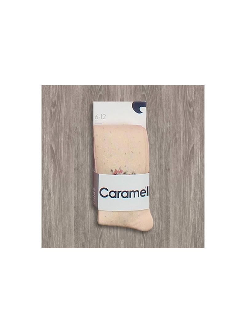 OUTLET - Caramell Benekli Külotlu Çorap
