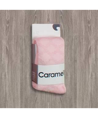 OUTLET - Caramell Desenli Külotlu Çorap