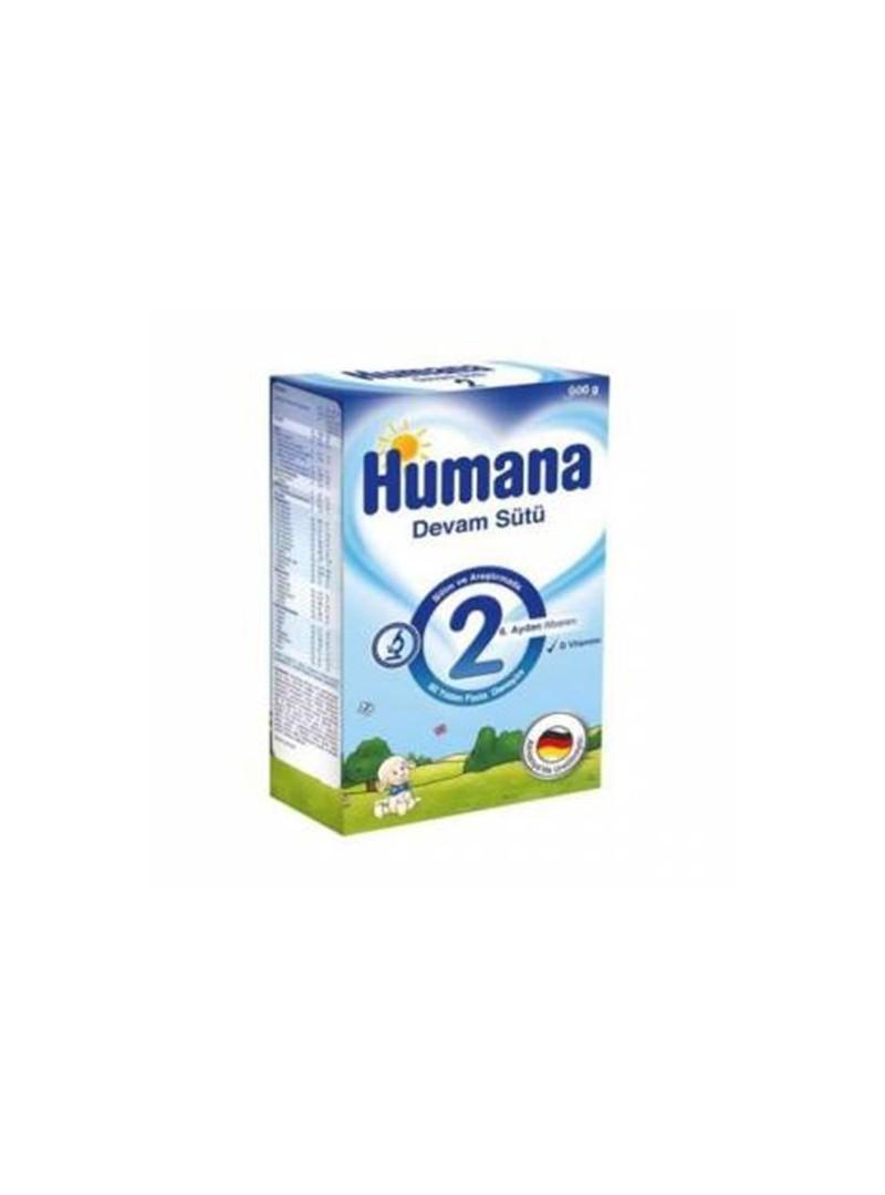 OUTLET - Humana 2 Devam Sütü 600 gr (6. aydan itibaren)