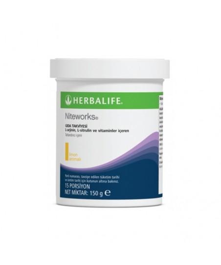 Herbalife Niteworks L-Arjinin ve Vitamin İçeren Limon Aromalı Takviye Edici Gıda 150g