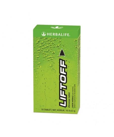 Herbalife Liftoff Efervesan İçecek Limon Aromalı 10x4,5 g