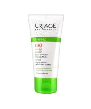 OUTLET - Uriage Hyseac Fluide Spf30 Krem (Oil Free) 50ml - Güneş Koruyucu