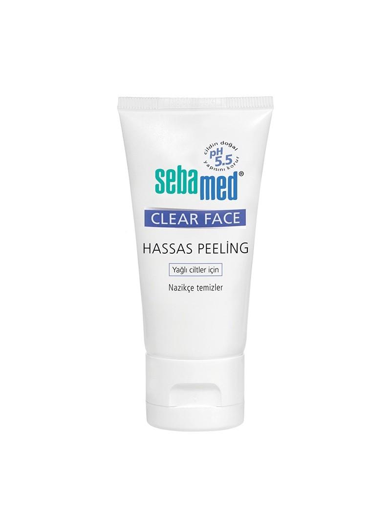 Sebamed Clear Face Hassas Peeling Yağlı Ciltler İçin 150 ml