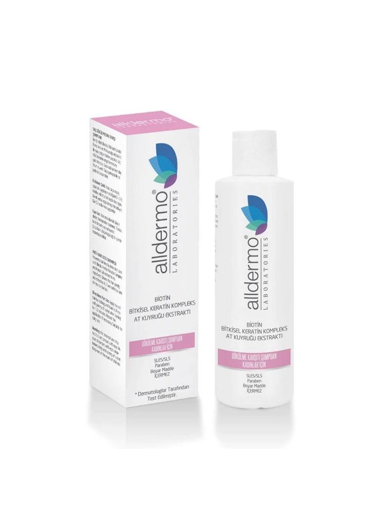 Alldermo Biotin At Kuyruğu Ekstraktlı Dökülme Karşıtı Şampuan 200 ml - Kadınlar İçin