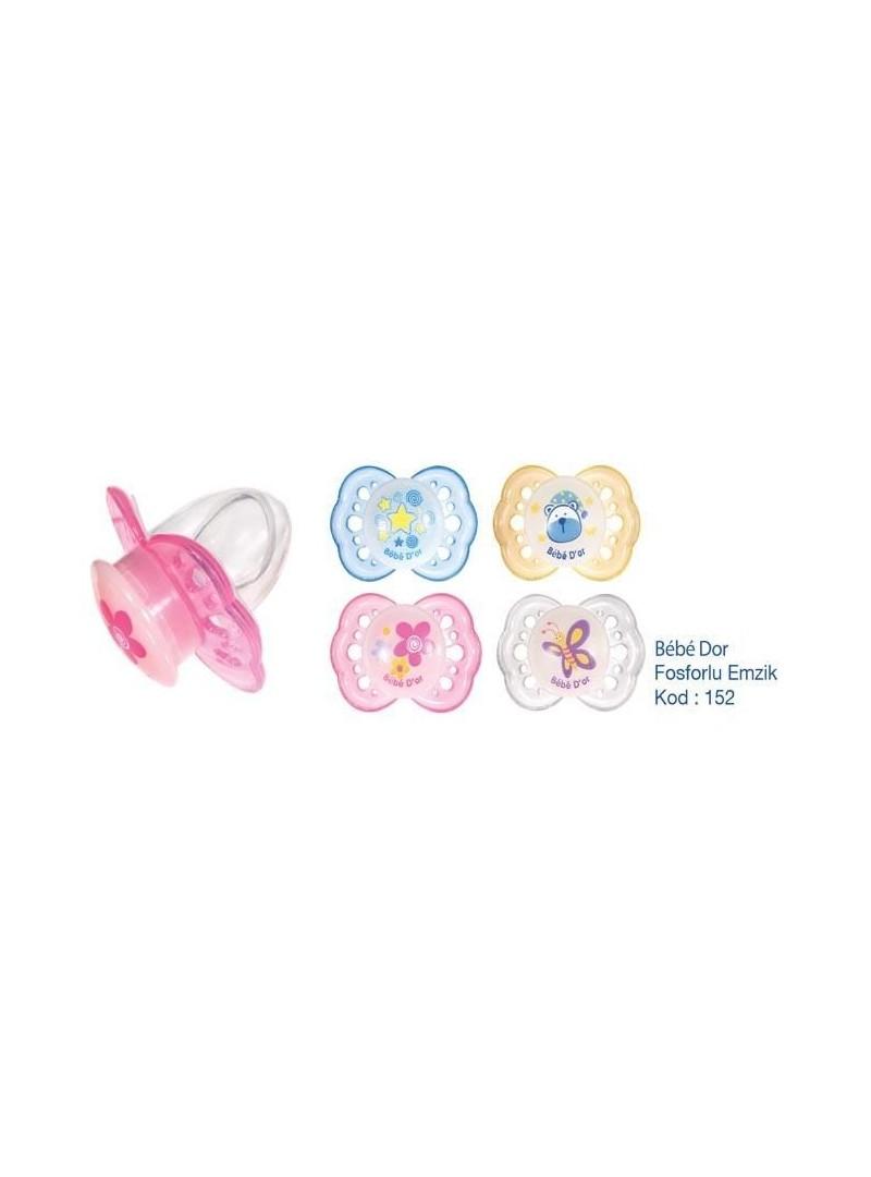 Bebedor Fosforlu Emzik Damaklı Uç Kapaklı (No:2)