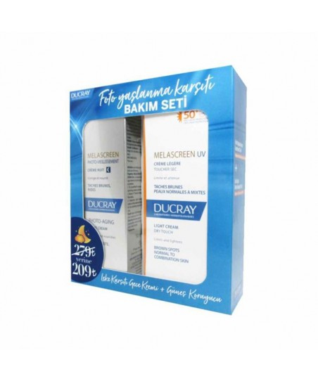 Ducray Melascreen Photo-Aging Night Cream 50ml.