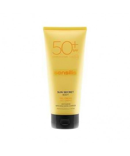 Sensilis Sun Secret Protective & Anti Aging Body Gel Cream Spf50 200mL
