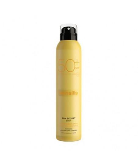 Sensilis Sun Secret Protective & Anti Aging Sun Body Transparent Spray Spf50+ 200mL