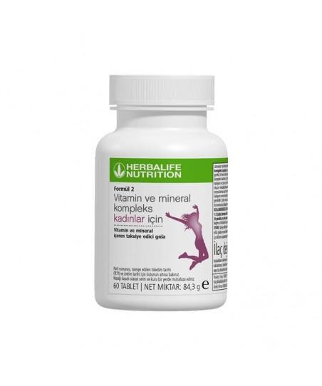 Herbalife Formül 2 Vitamin Ve Mineral Kadınlar İçin 60 Tablet