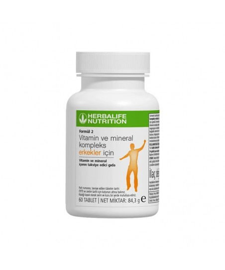 Herbalife Formül 2 Vitamin Ve Mineral Erkekler İçin 60 Tablet