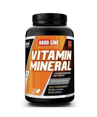 Hardline Vitamin Mineral 120 Tablet