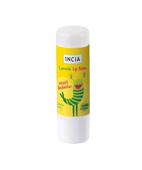 Incia Kids Lip Balm Dudak Besleyici Limon 6 gr