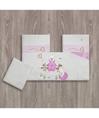 OUTLET - Bahar Bebe Ayıcıklı Nevresim Takımı